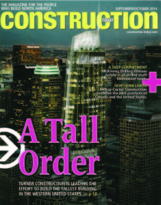Construction Today Sept/Oct 2014 edition