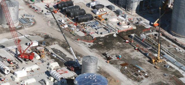 Abengoa Ethanol Plant aerial view