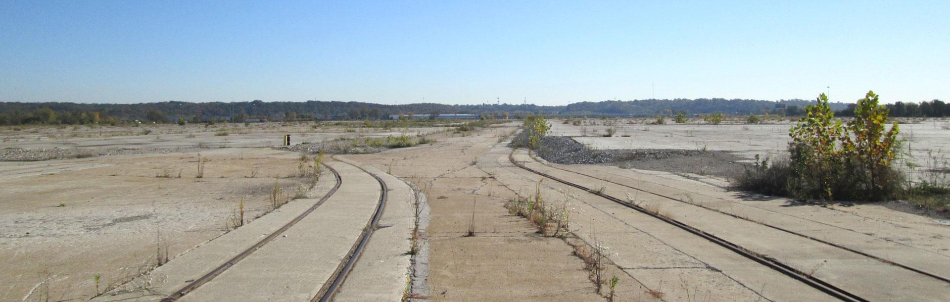 Former Chrysler Assembly plant in Fenton, Missouri
