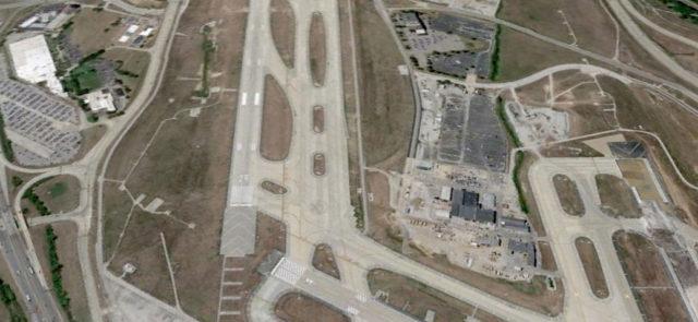 Lambert Airport W-1W runway